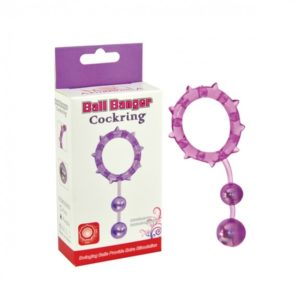 Aphrodisia - Ball Banger Cockring 2 Balls - Purple