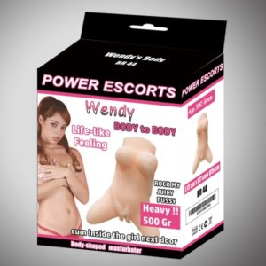 Power Escorts - Wendy - Body To Body - Masturbator - 500 Grams - Br44