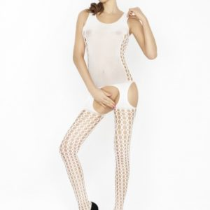 Passion Body Stockings – Wit – BS029