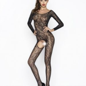 Passion Body Stockings - Black - BS042