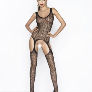 Passion Body Stockings - Zwart - BS043