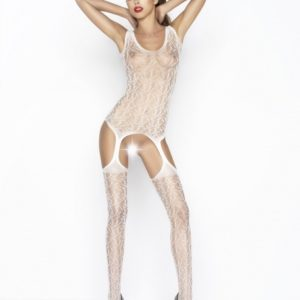 Passion Body Stockings - Wit - BS043