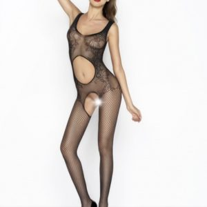 Passion Body Stockings - Zwart - BS044
