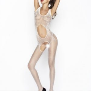 Passion Body Stockings - Wit - BS044