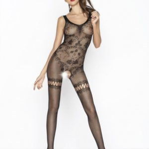 Passion Body Stockings - Zwart - BS045