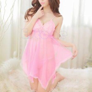 Sexy Jurkje - Licht Roze - LS0009 - Sexy lingerie - One size fits all