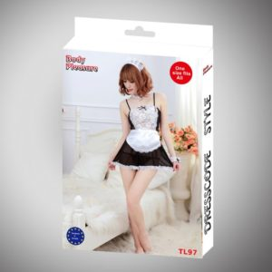 Sexy Lingerie - Body Pleasure - Role Play - Waittress - One Size - TL97 - gave Cadeaubox