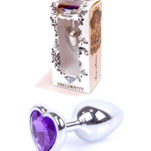 64-00052 heat silver plug purple stone