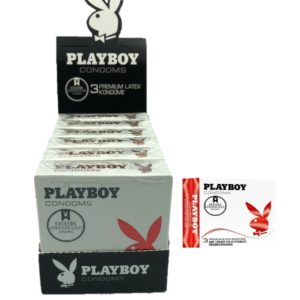 Playboy Display 6x3 Pack Strawberry