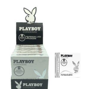 Playboy Display 6x3 pack Lubricated
