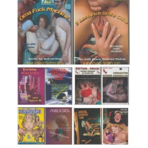 X MODELS MIX DVD 10 PACK