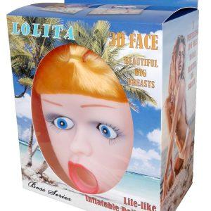 lolita 3d face doll