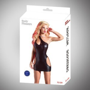 body pleasure - tl124 - wetlook dress