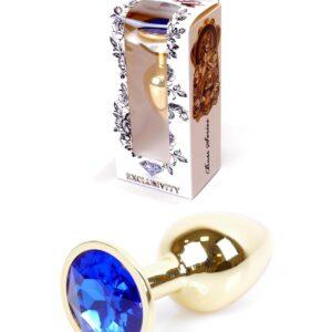 64-00023 dark blue gold plug