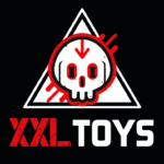 XXLTOYS - Anil - Tunnel Plug - 14 X 7.5 cm - Hole 3 cm - Black
